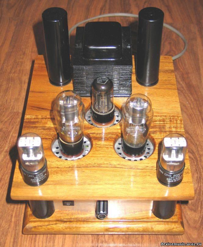 ...классических схем пришла после изготовления нескольких прекрасно работающих мощных двухтактных ламповых схем.